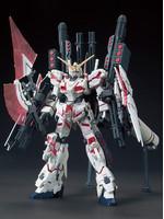HGUC Full Armor Unicorn Gundam (Destroy Mode/Red) - 1/144