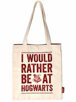 Harry Potter - Hogwarts Slogan Tote Bag