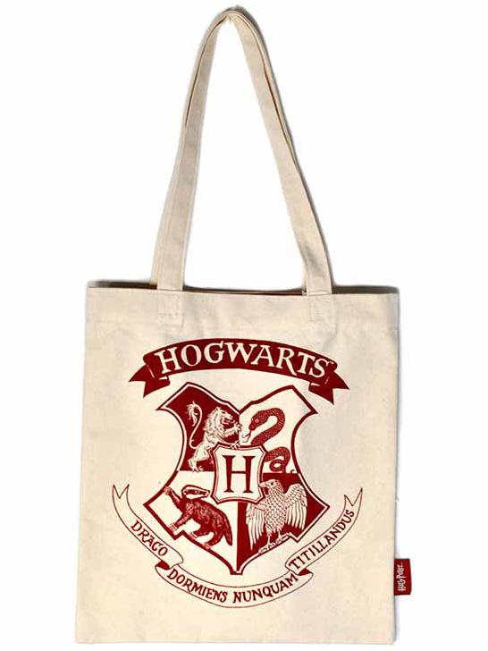 Harry Potter - Hogwarts Crest Tote Bag