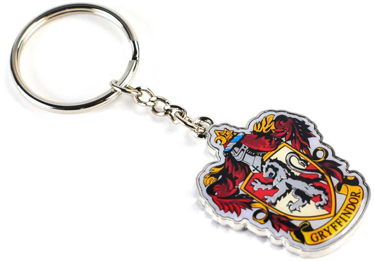 Harry Potter - Gryffindor Crest Metal Keychain