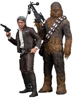 Star Wars - Han Solo & Chewbacca Ep VII - Artfx+