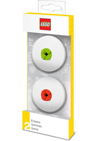LEGO - Bricks Erasers 2-Pack