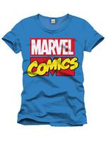 Marvel - Marvel Logo Cobalt T-Shirt