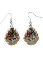 Harry Potter - Hogwarts Crest Earrings (silver plated)
