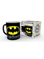 DC Comics - Batman Logo Heat Change Mug