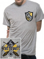 Harry Potter - Hufflepuff T-Shirt Grey