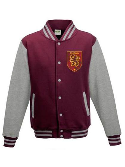 Harry Potter - Baseball Varsity Jacket Gryffindor Quidditch