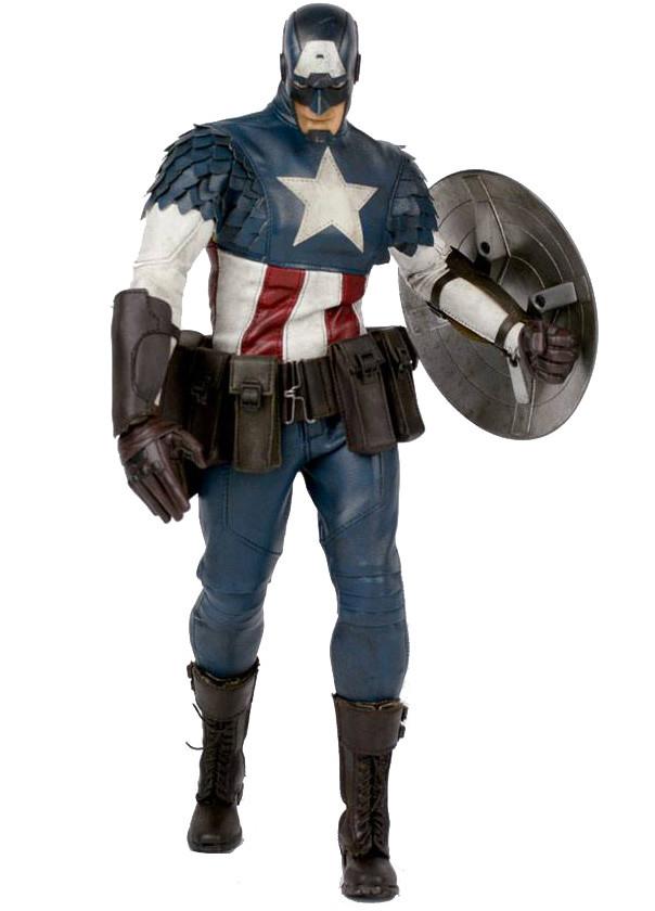 Marvel - Captain America by Ashley Wood - 1/6