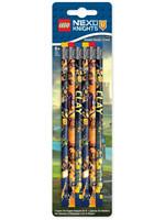 LEGO Nexo Knights - Pencil 6-Pack