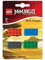 LEGO Ninjago - Mini-Erasers 4-Pack