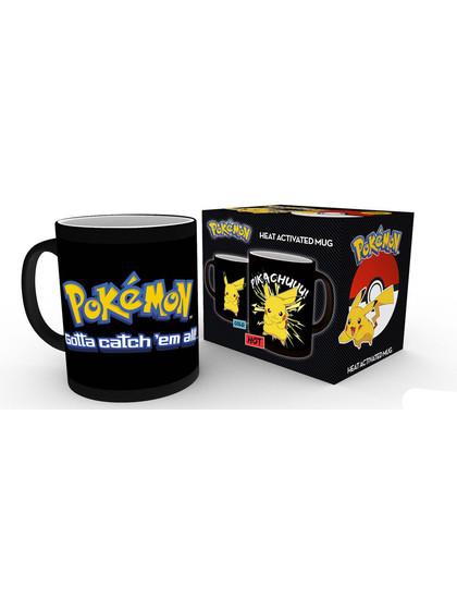 Pokemon - Pikachu Heat Change Mug
