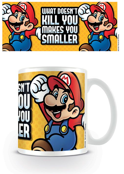 Super Mario - Makes You Smaller Mug