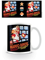 Super Mario - NES Cover Mug
