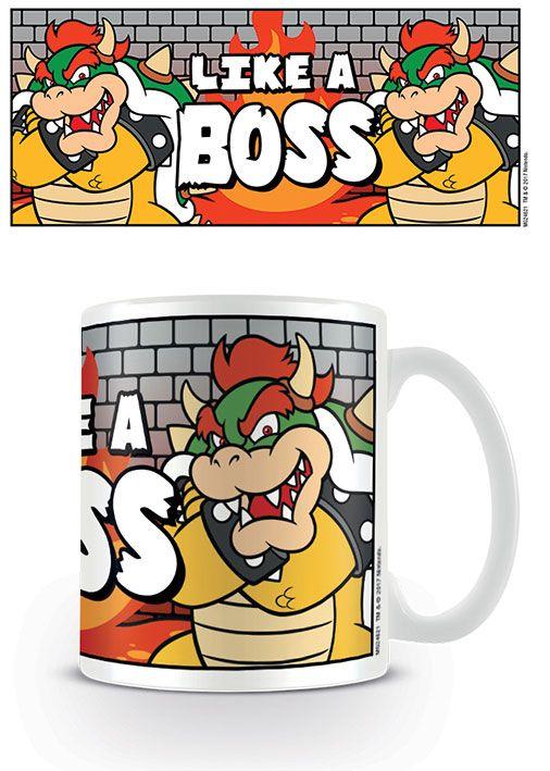 Super Mario - Like A Boss Mug