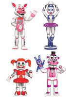 Five Nights at Freddy's Mini - Action Figures Sister Location