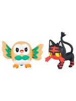 Pokemon -  Rowlet vs Litten