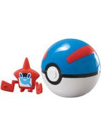 Pokemon - Rotom Pokédex Clip´n´Carry Great Ball