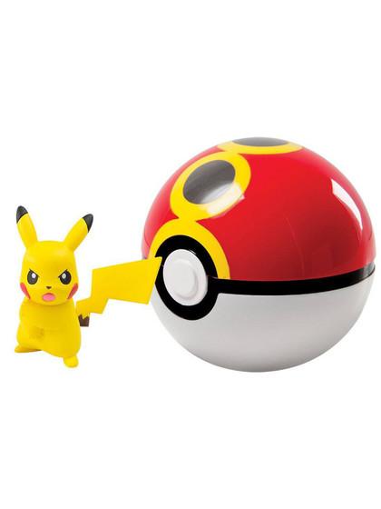 Pokemon - Pikachu Clip´n´Carry Repeat Ball 2