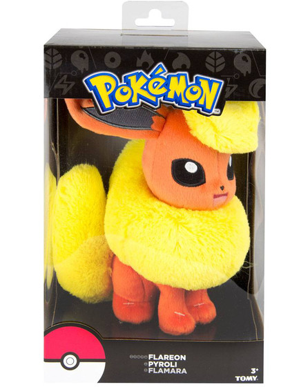 Pokemon - Flareon Plush (gift box) - 20 cm
