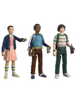 Stranger Things - Mike, Eleven & Lukas - ReAction 3-Pack