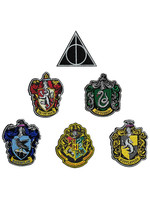 Harry Potter - House Crests Patches 6-Pack