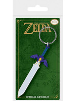 Legend of Zelda - Master Sword Rubber Keychain