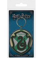Harry Potter - Slytherin Rubber Keychain 6 cm
