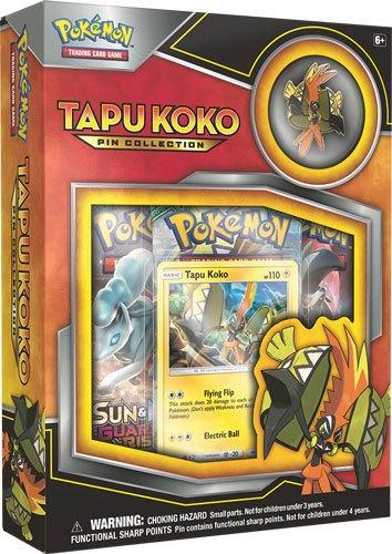 Pokemon - Tapu Koko Pin Collection Box