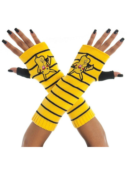 Pokemon - Pikachu Fingerless Gloves