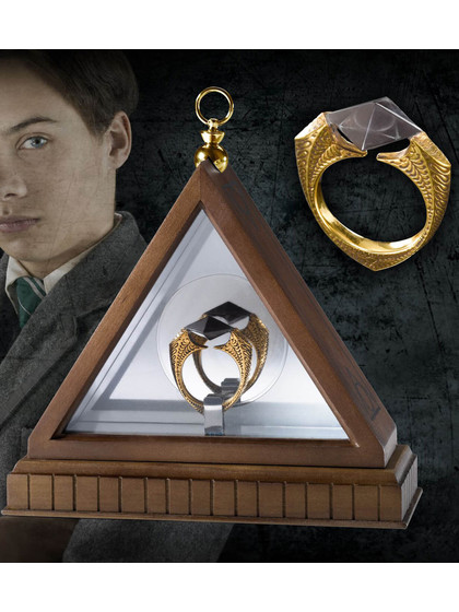 Harry Potter - Lord Voldemort's Horcrux Ring Replica (gold-plated)