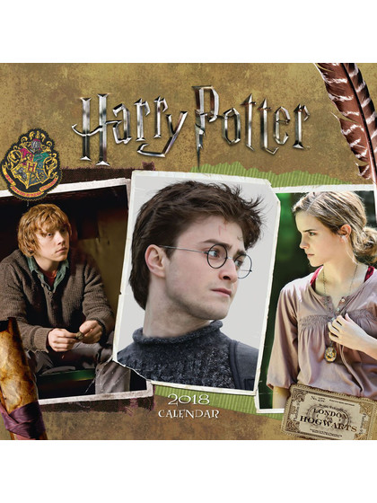 Harry Potter - 2018 Calendar - English