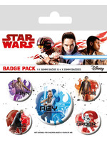 Star Wars Episode VIII - Icons Pin Badges 5-Pack