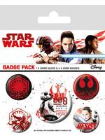 Star Wars Episode VIII - Resist Pin Badges 5-Pack