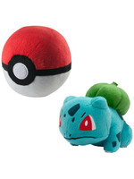 Pokemon - Bulbasaur with Poke Ball Plush - 15 cm