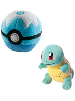 Pokemon - Squirtle with Poke Ball Plush - 15 cm
