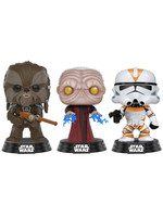 POP! Vinyl Star Wars - Tarfful, Emperor, Clone Trooper Exclusive