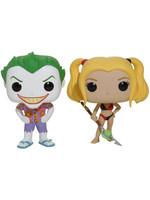 POP! Vinyl DC Comics - Beach Joker & Harley 2-Pack