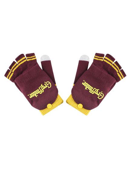 Harry Potter - Gryffindor Gloves (Fingerless)