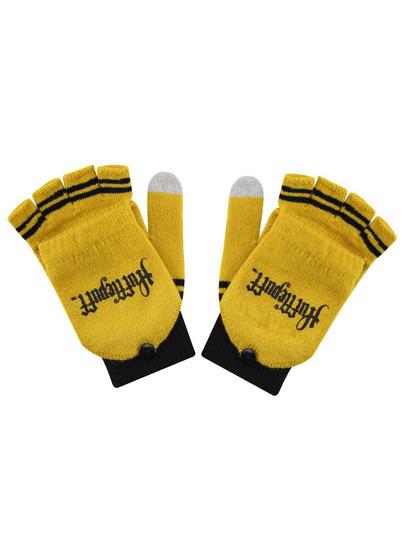 Harry Potter - Hufflepuff Gloves (Fingerless)