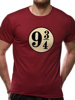Harry Potter - Platform 9 3/4 T-Shirt Red