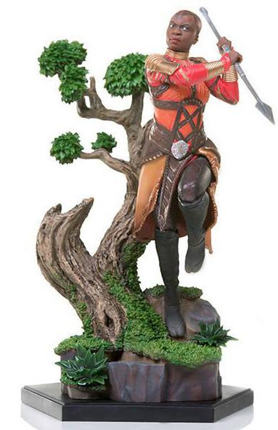 Black Panther - Okoye Battle Diorama Statue