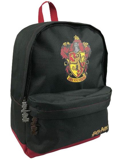 Harry Potter - Gryffindor Black Burgundy Backpack