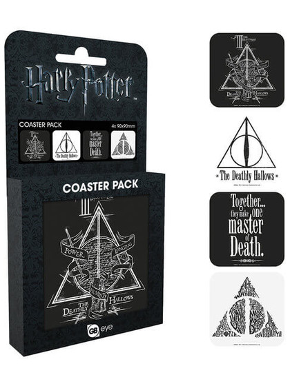 Harry Potter - Deathly Coaster 4-pack