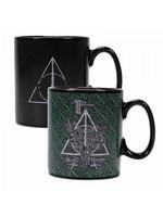 Harry Potter - Deathly Hallows Symbol Heat Change Mug