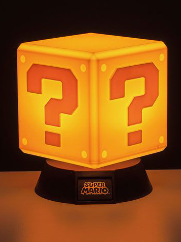 Super Mario - Question Block 3D Light