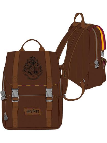 Harry Potter - Hogwarts Backpack Brown