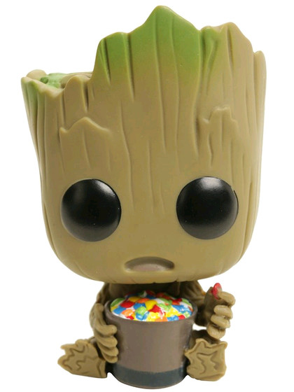 POP! Vinyl Marvel - Groot with Candy Bowl Exclusive