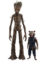Avengers Infinity War - Groot & Rocket MMS 2-Pack - 1/6