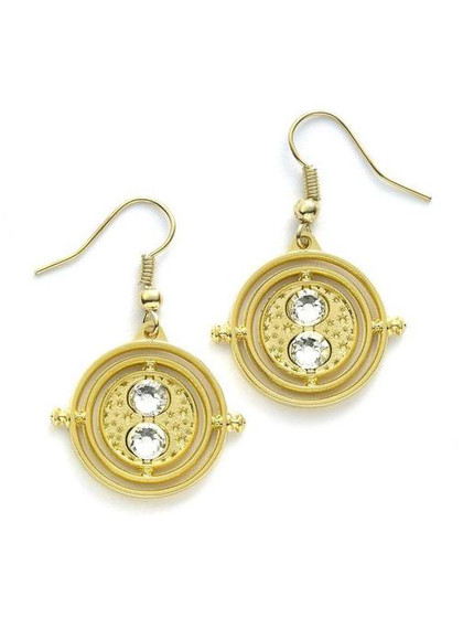 Harry Potter - Time Turner (gold plated) Earrings