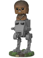 POP! Vinyl Star Wars - Deluxe Chewbacca with AT-ST